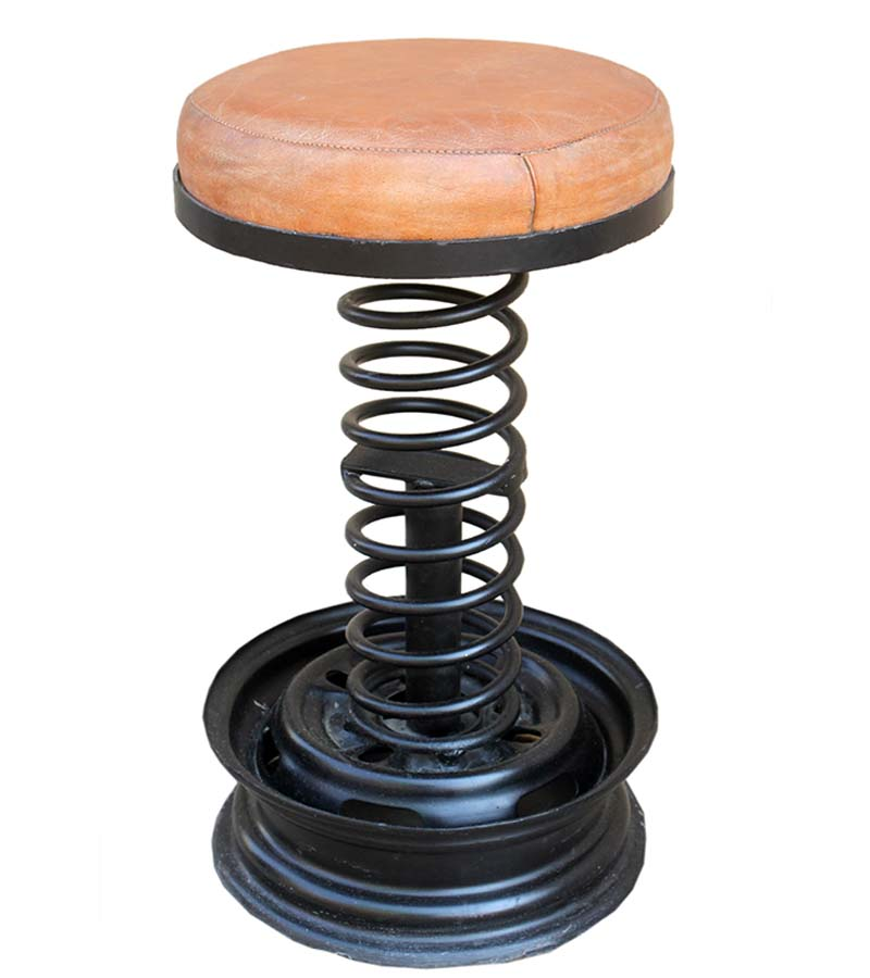 Industrial Furniture - Industrial Spring Stool
