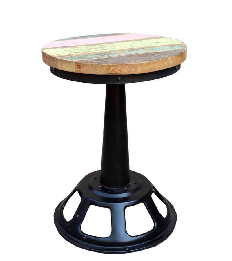 Industrial Furniture - Reclaimed Wood Industrial  Stools