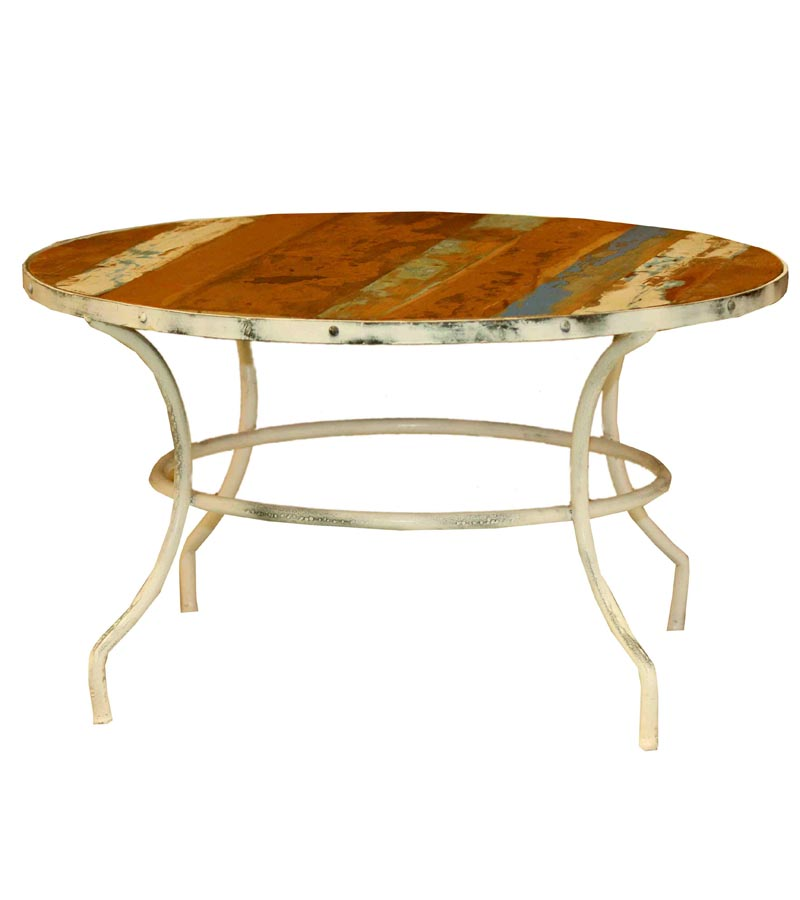 Industrial Furniture - Industrial Reclaimed Wood Table with distess finish