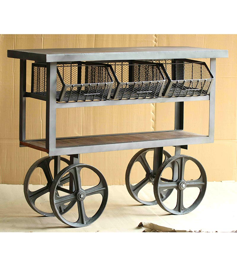 Industrial Furniture - Multipurpose Trolley