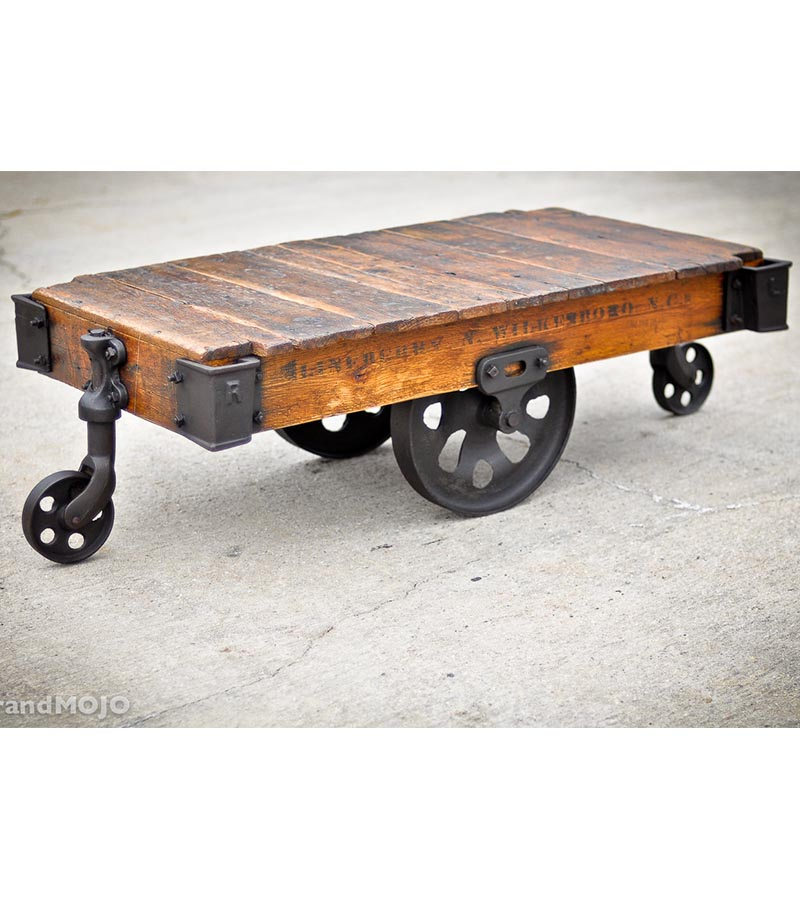 Industrial Furniture - Industrial Low Height Coffee Table