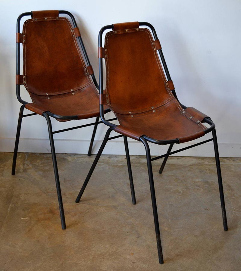 Industrial furniture traditional metal pipe chair with leather seat Www wooden furniture com