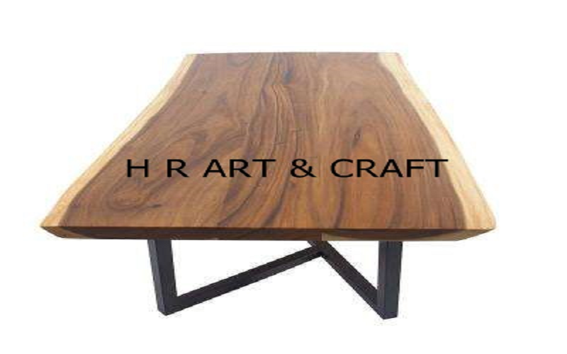 Wooden Furniture - Classic Live Edge Dining Table