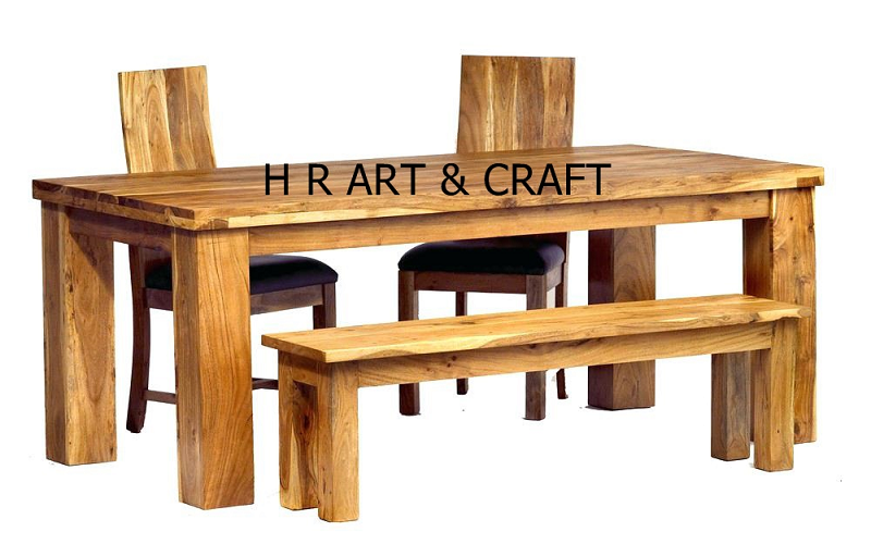 Wooden Furniture - Solid Wooden Dining Table