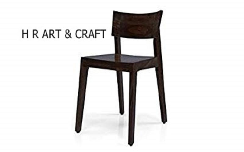Wooden Furniture - Modern Dark Finish Dining Chair