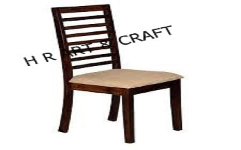 Wooden Furniture - Modern Walnut Finish Dining Chair