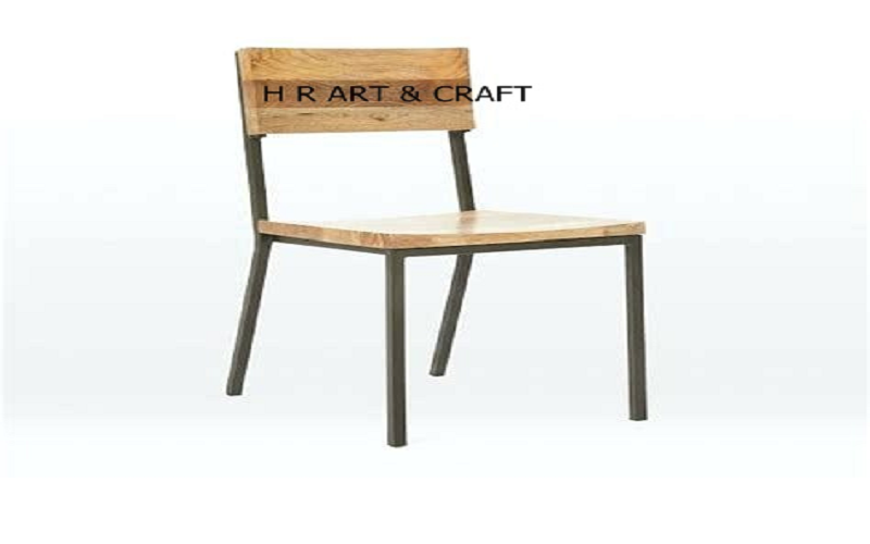 Wooden Furniture - Classic Wooden& Iron Dining Chair