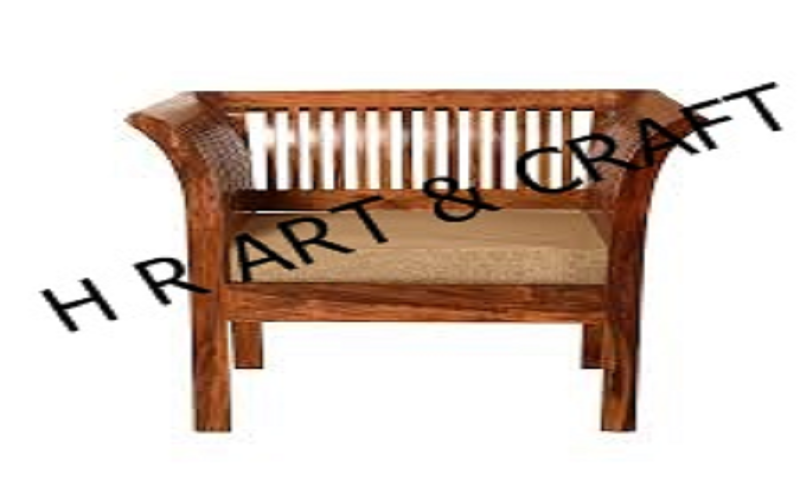 Wooden Furniture - Wooden Bench - Single Seater Wooden Bench