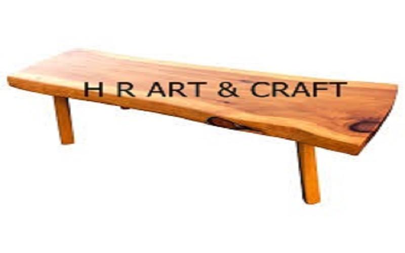 Wooden Furniture - Wooden Bench - Solidwood Walnut Wooden Bench