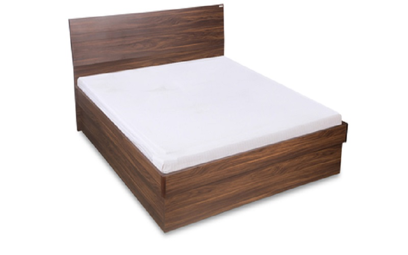 Wooden Furniture - Hotel Bed - Solid Shesham Wood Double Size Bed