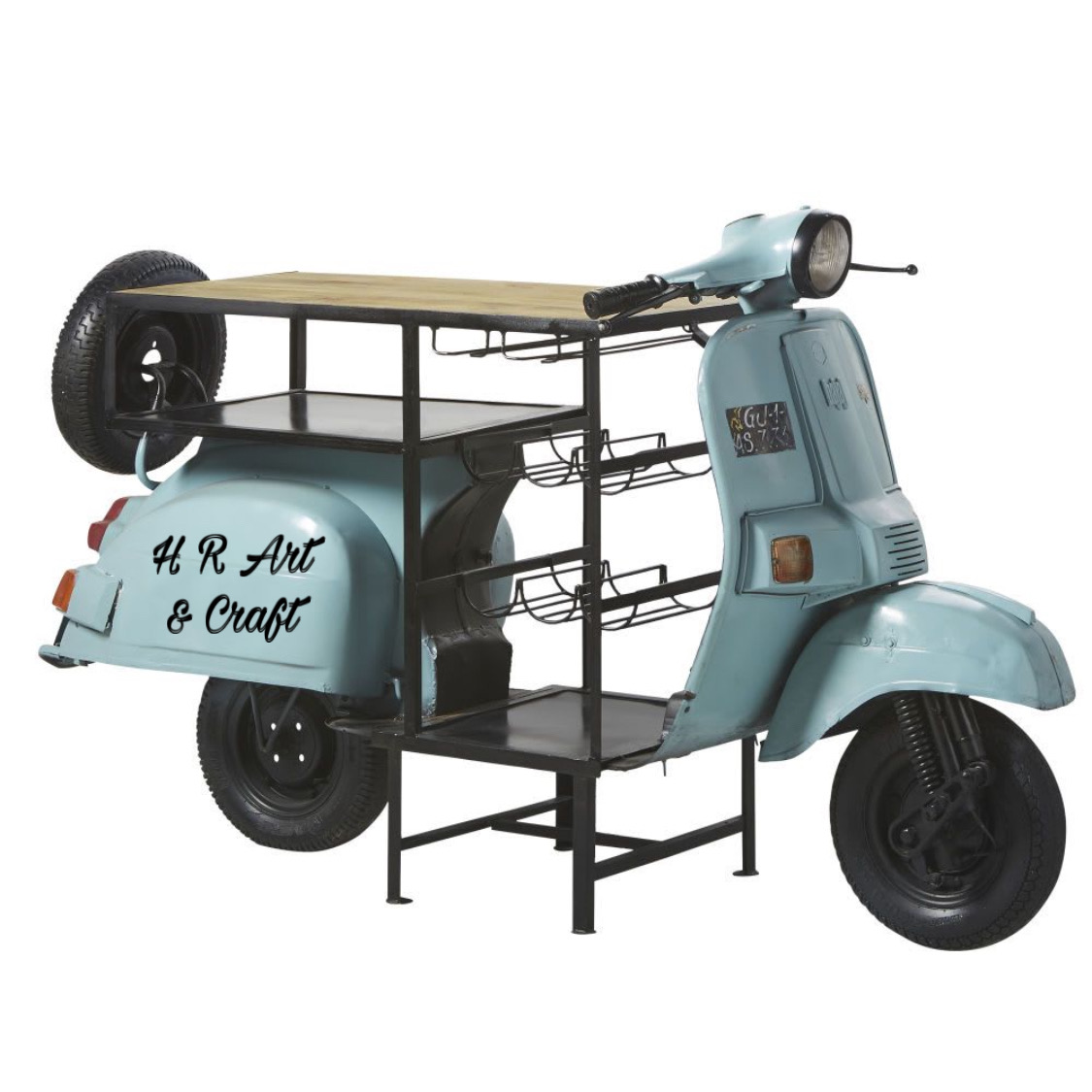 Automobile Furniture - Scooter Bar Counter