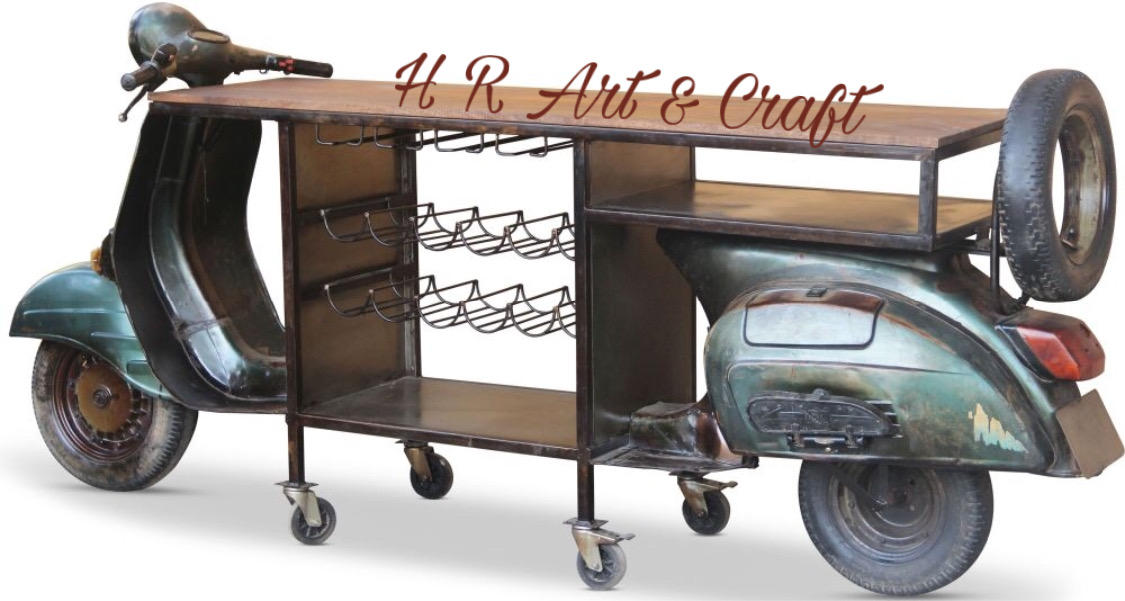Automobile Furniture - Scooter Bar Table