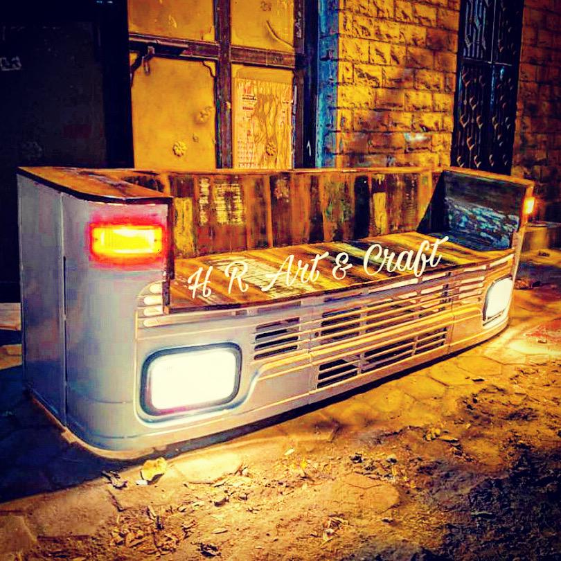 Automobile Furniture - Vintage Truck Sofa