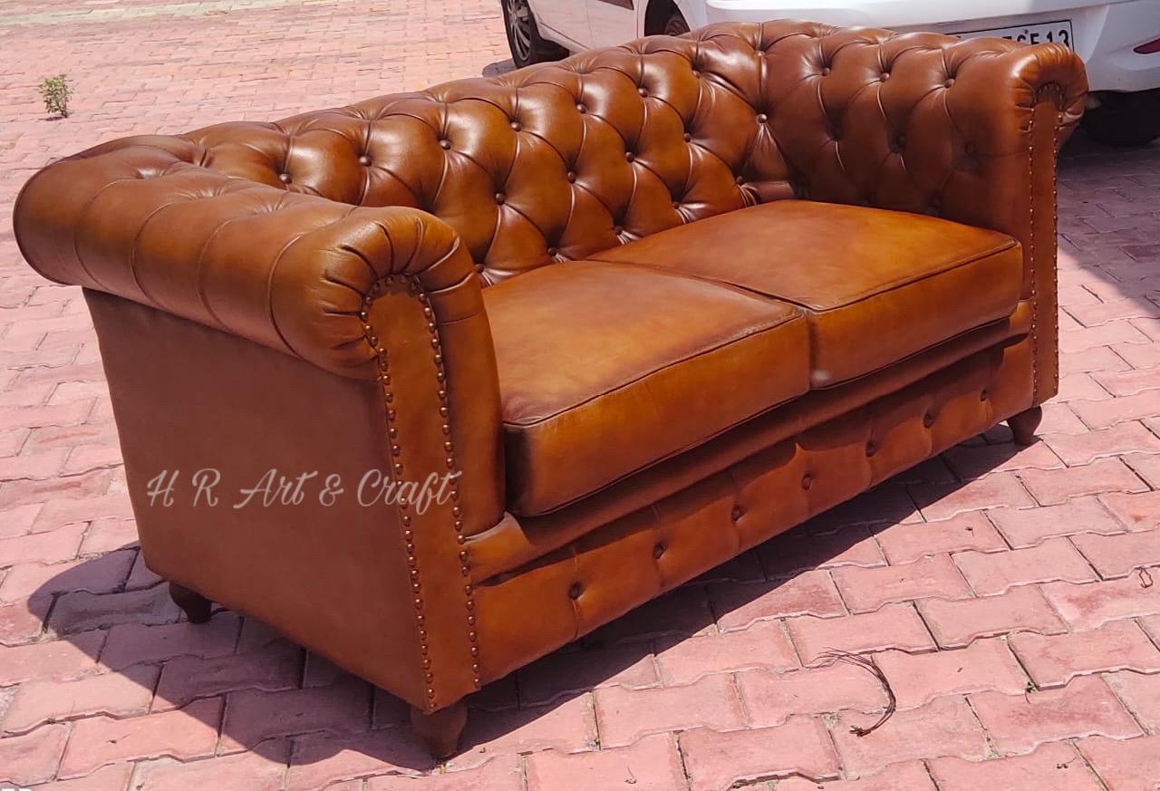 Upholstery Furniture  - Premium Leatherette Sofa