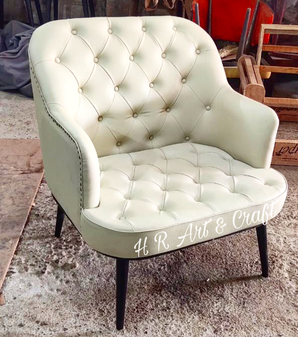 Upholstery Furniture  - Chesterfield Sofa Chair
