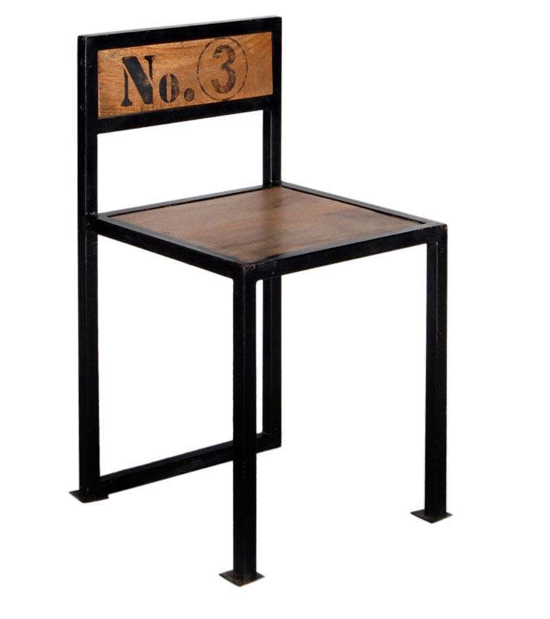Industrial Furniture - Industrial metal piped chair