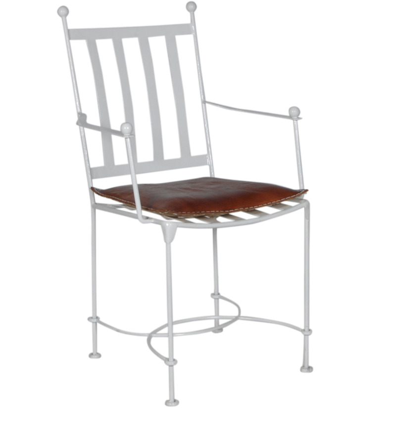 Iron Furniture - Metal King Chair