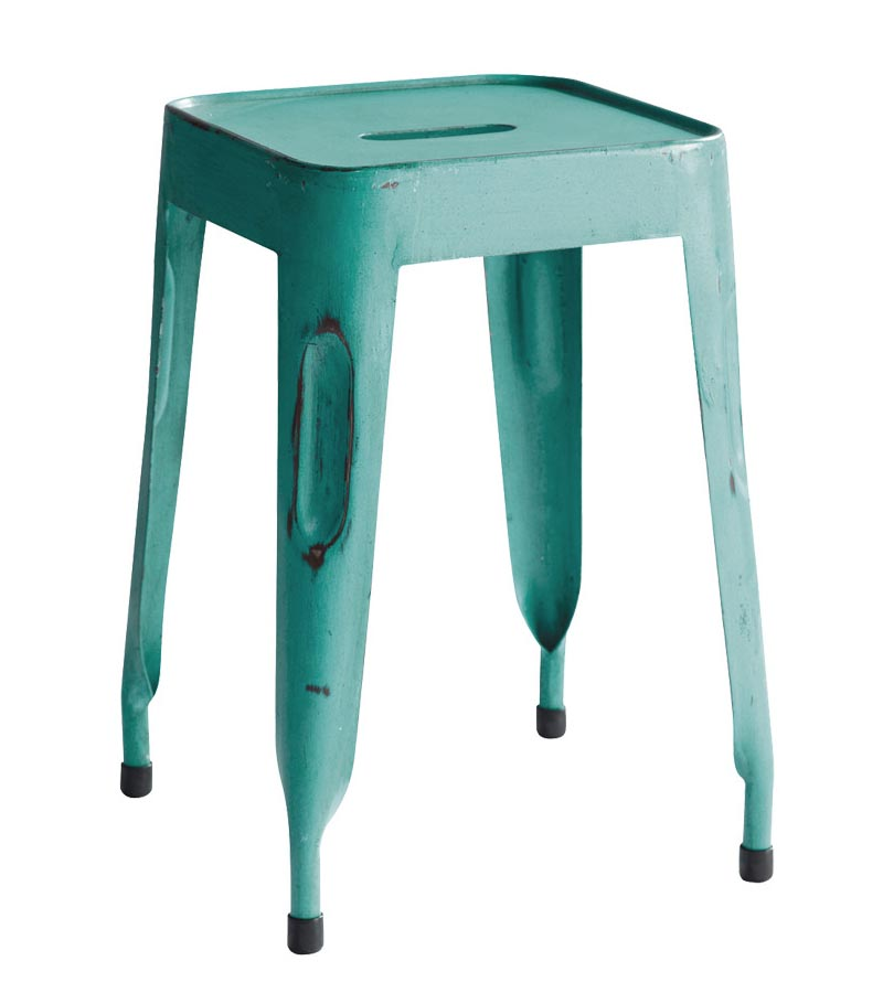 Iron Furniture - Metal Tolix Stool