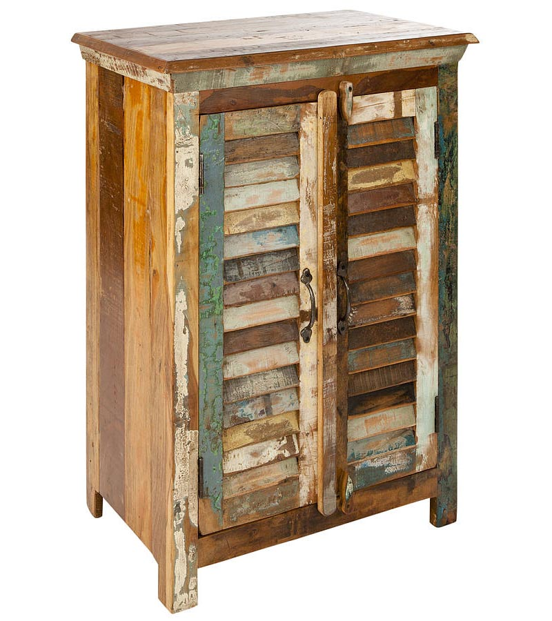 Reclaimed Wood - Reclaimed Furniture Small Almirah