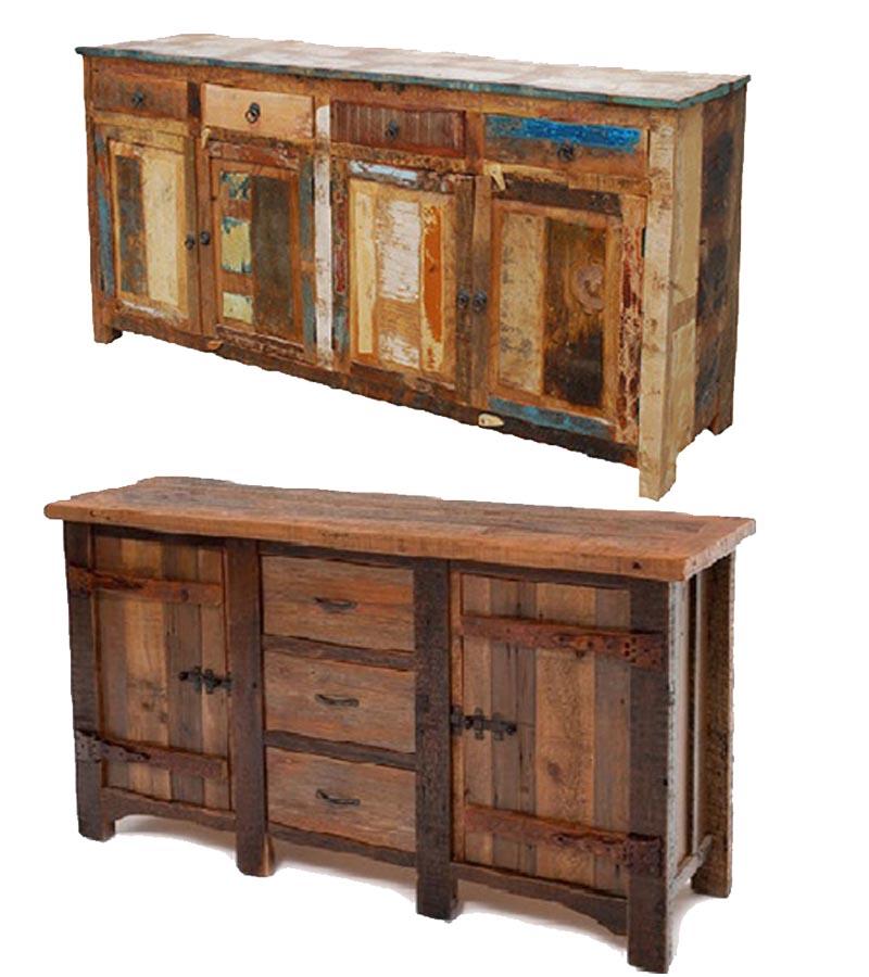 Reclaimed Wood - Reclaimed Furniture Sideboards