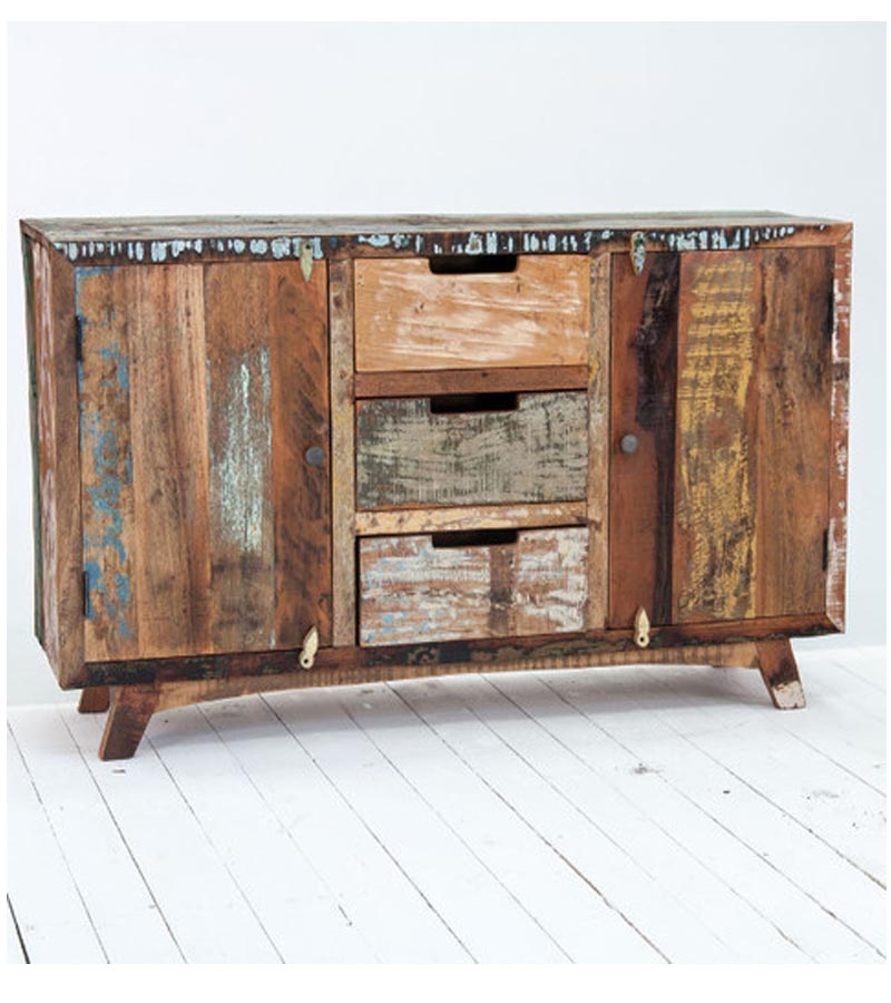Reclaimed Wood - Reclaimed Furniture Trendy Sideboard