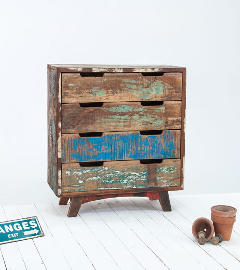 Reclaimed Wood - Reclaimed Furniture Drawer Chest