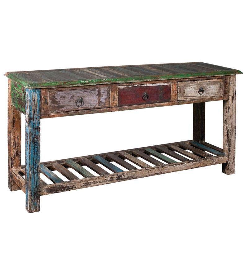 Reclaimed Wood - Reclaimed Furniture Console Table