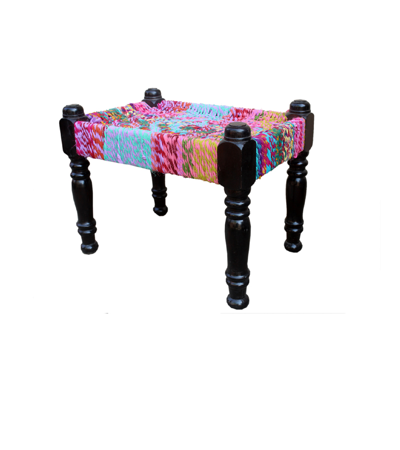 Exclusives - Chindi stool