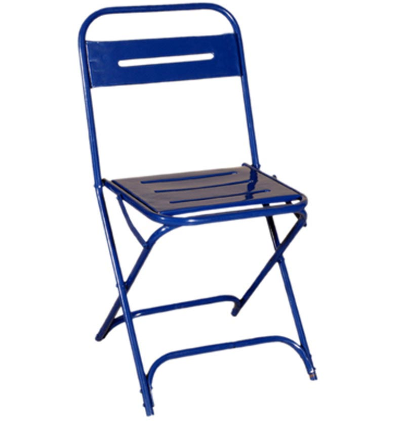 Iron Furniture - Metal Folding Chair Stripped