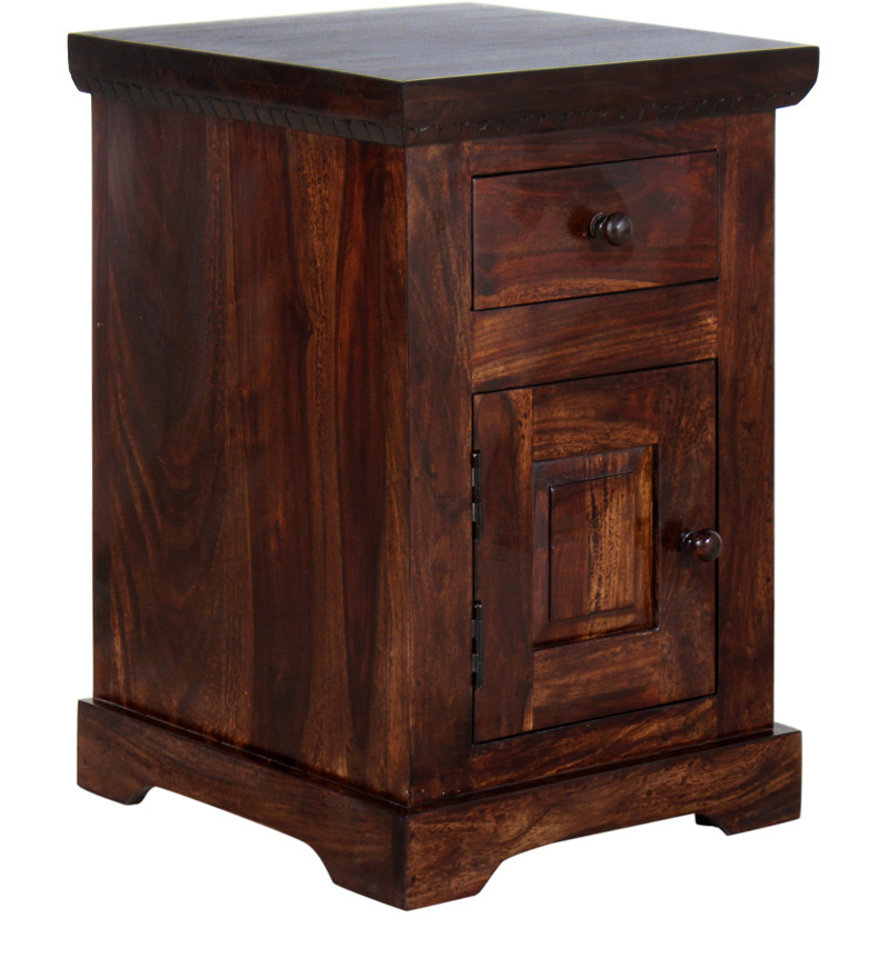 Wooden Furniture - Rough Finish Bedside