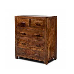 Wooden Furniture - Drawer Chest 5 Drawers